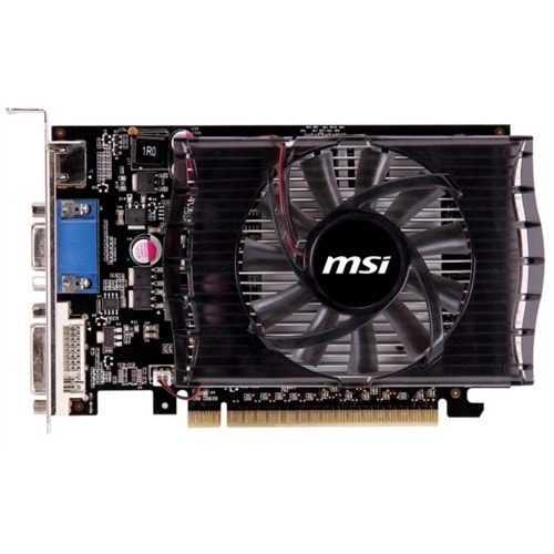 Msi GeForce N730-2GD3V2 2GB 128Bit DDR3 HDMI DVI VGA PCI 2.0